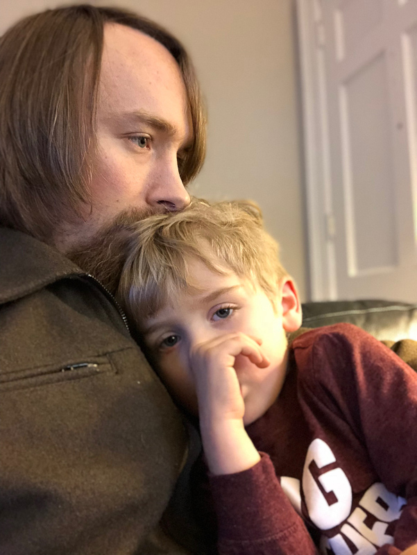 The expression of the love of a father for his child fills me with longing. I find myself at times taking the love of Jesus, fundamental to my faith, for granted. I forget its prominence, and I don't feel its permanence